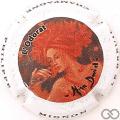 Champagne capsule 33.d Femme rousse