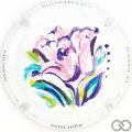 Champagne capsule  PALM, jéroboam, fleur