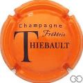 Champagne capsule 13 Orange et noir