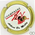 Champagne capsule 1112.da An 2020, jéroboam, contour or