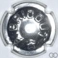 Champagne capsule A1 Estampée métal