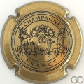 Champagne capsule 12.f Or