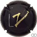 Champagne capsule 1.c Noir et or