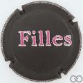 Champagne capsule 1.b Noir mat, Filles en relief