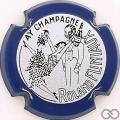 Champagne capsule 7.e Contour bleu