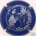 Champagne capsule 7.b Bleu foncé et blanc
