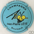Champagne capsule 1112.j An 2020, bleu ciel mat