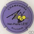 Champagne capsule 1112.i An 2020, violet mat