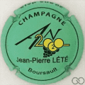Champagne capsule 1112.f An 2020, vert mat