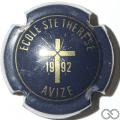 Champagne capsule 2.f Bleu-noir