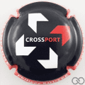 Champagne capsule A19.a Crossport, contour rouge