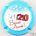 Champagne capsule A17 Bonne Année 2020