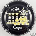 Champagne capsule  B & B  Villa Copis en relief