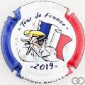 Champagne capsule 115 Drapeau Français