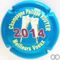 Champagne capsule 17.c Vœux 2014