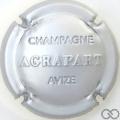 Champagne capsule 6 Estampée, argent