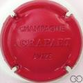 Champagne capsule 9 Estampée, rouge
