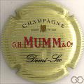 Champagne capsule 124 Crème, demi sec