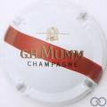 Champagne capsule 157.c Nabu, blanc barre rouge