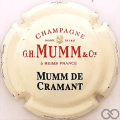 Champagne capsule 127 Idem (126), inscription sur le contour
