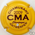 Champagne capsule 3 Crème 2009, avec strass