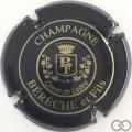 Champagne capsule 3 Noir et or