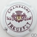 Champagne capsule 1.a Blanc et bordeaux foncé