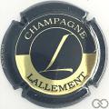 Champagne capsule 2 Noir et or pâle