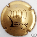 Champagne capsule 8 Or, 2000 or foncé