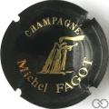Champagne capsule A1.fagmi Noir et or nº 1