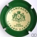 Champagne capsule A1.darna Darnac Gérard n° 10