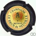 Champagne capsule A1.lebru Le Brun de Neuville n° 15a