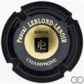 Champagne capsule A1.leblo Leblond-Lenoir Pascal n° 4a