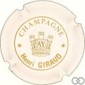 Champagne capsule A1.girau Giraud Henri n° 1
