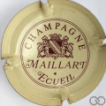 Champagne capsule A1.maill Maillart n° 1