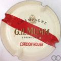 Champagne capsule A1.mumm Mumm n° 134