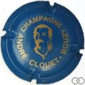 Champagne capsule A1.cloue Clouet André n° 4