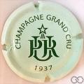 Champagne capsule 6 Vert pâle et vert foncé