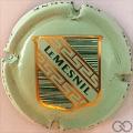 Champagne capsule 4.b Vert pâle, écusson vert et or