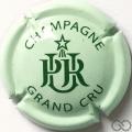 Champagne capsule 7 Vert pâle et vert foncé, grand cru