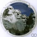Champagne capsule 1.ff Mount Rushmore, jéroboam