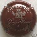 Champagne capsule 2.aj Bordeaux et argent