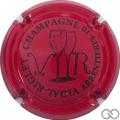 Champagne capsule 3.d Rouge