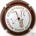Champagne capsule 4.g Contour bordeaux