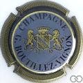 Champagne capsule 17 Contour or, striée