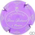 Champagne capsule 33.b Mauve et argent