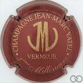 Champagne capsule 2 Bordeaux foncé et or