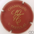 Champagne capsule 11 Rouge et or