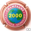 Champagne capsule 5.a AN 2000, contour rosé