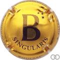 Champagne capsule 7 Singularis, or et noir